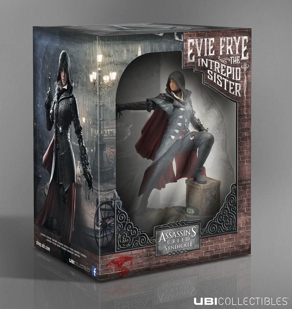 Фигурка Assassins Creed Syndicate EvieUbicollectibles представляет: коллекционная фигурка Иви Фрай, героини новой части знаменитой серии игр Assassins Creed Синдикат.<br>