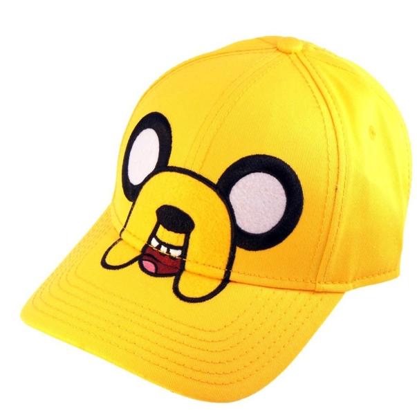 Бейсболка Adventure Time. JakeПредставляем вашему вниманию бейсболку Adventure Time. Jake, созданную по мотивам одного из самых популярных мультсериалов Adventure Time (Время Приключений с Финном и Джейком).<br>