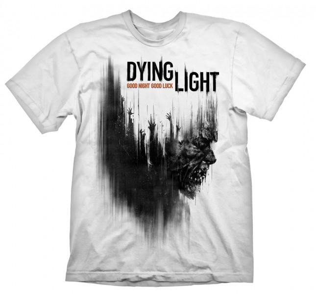 Футболка Dying Light. Cover Zombie (белая) (M) от 1С Интерес