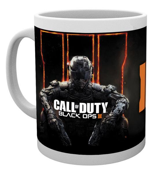 Кружка Call of Duty. Black Ops III. CoverПредставляем вашему вниманию кружку Call of Duty. Black Ops III. Cover для настоящего поклонника популярной серии игр!<br>