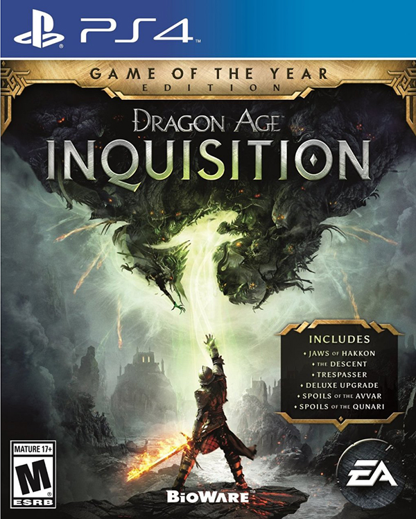 Dragon Age: Инквизиция. Game of the Year Edition [PS4]