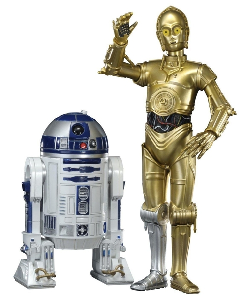 Набор фигурок Star Wars. R2-D2 & C-3PO (17 см) фото