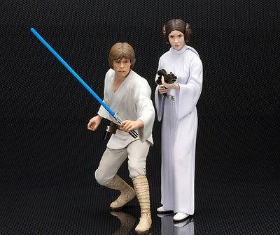 Набор фигурок Star Wars. Luke Skywalker and Princess Leia (16 см)