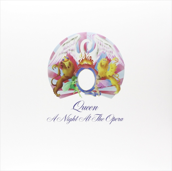 Queen. A Night At The Opera (LP) b brown brown travels through the mind of india
