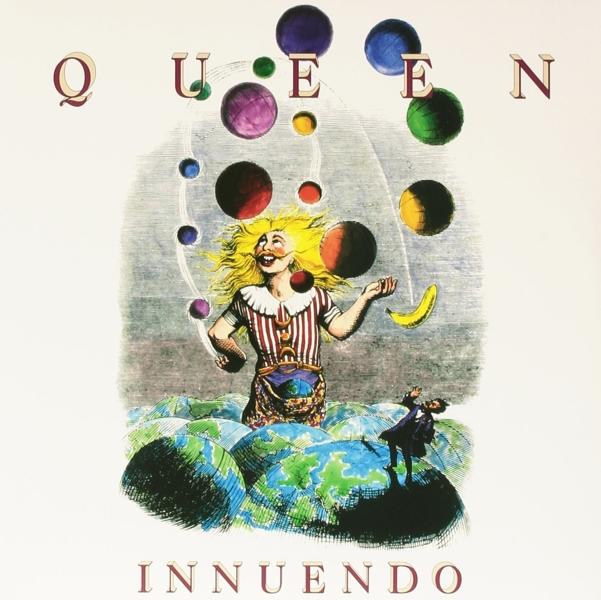 Queen. Innuendo (2 LP)Представляем вашему вниманию альбом Queen. Innuendo, четырнадцатый студийный альбом легендарной группы, изданный на виниле.<br>