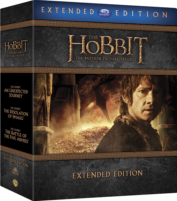 Хоббит. Трилогия. Режиссерская версия (9 Blu-ray) The Hobbit: An Unexpected Journey / The Hobbit: The Desolation of Smaug / The Hobbit: The Battle of the Five Armies