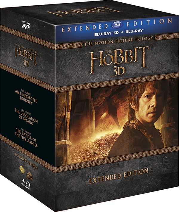 Хоббит. Трилогия. Режиссерская версия (6 Blu-ray 3D   9 Blu-ray) The Hobbit: An Unexpected Journey / The Hobbit: The Desolation of Smaug / The Hobbit: The Battle of the Five Armies
