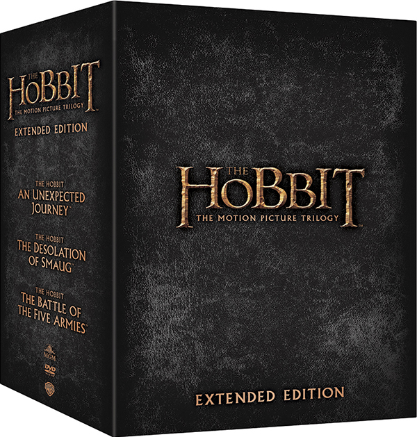Хоббит. Трилогия. Режиссерская версия (15 DVD) The Hobbit: An Unexpected Journey / The Hobbit: The Desolation of Smaug / The Hobbit: The Battle of the Five Armies