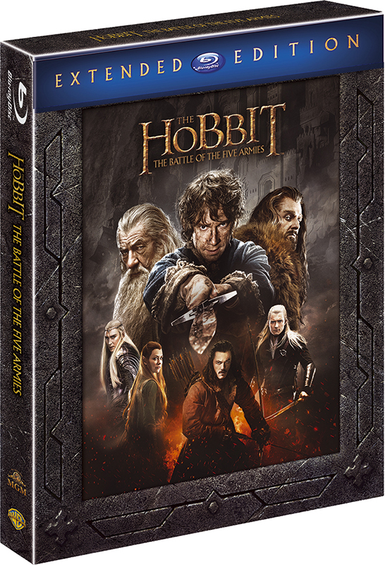 Хоббит: Битва пяти воинств. Режиссерская версия (3 Blu-ray) The Hobbit: The Battle of the Five Armies