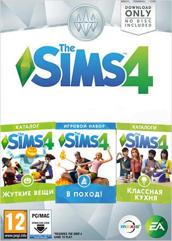 The Sims 4. Коллекция (игровой набор   два каталога) (код загрузки) [PC]