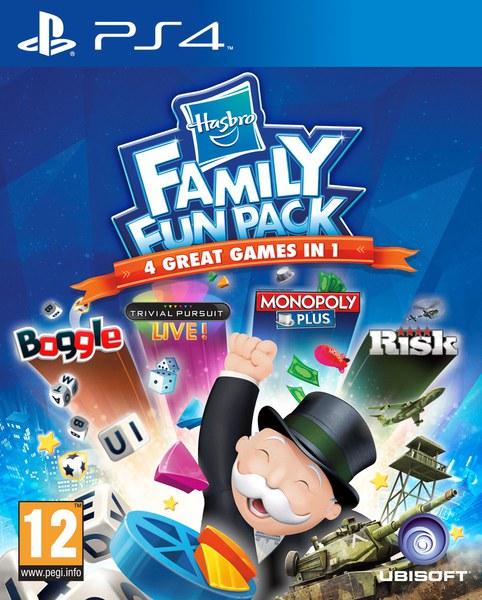 Hasbro Family Fun Pack [PS4]Самые известные и самые увлекательные игры Hasbro в одном наборе Hasbro Family Fun Pack! Развлечение для всей семьи!<br>