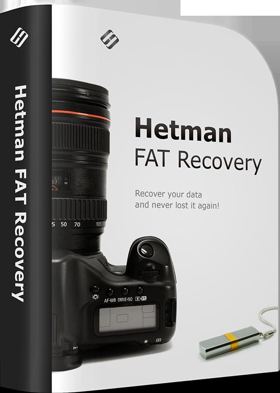 Hetman FAT Recovery Коммерческая версия (Цифровая версия)Hetman FAT Recovery разработана для решения любой из задач по восстановлению данных, получения доступа и чтения информации с недоступных дисков. Программа извлекает информацию с любых проблемных носителей.<br>