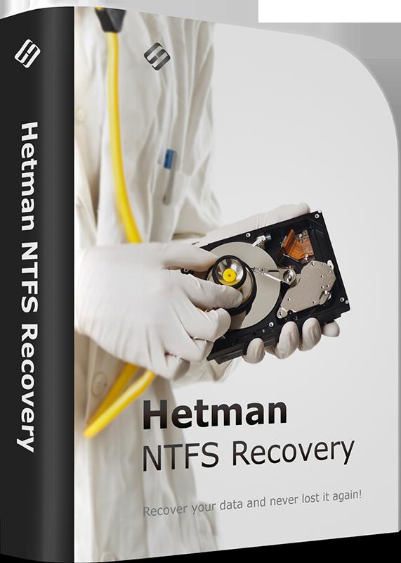 Hetman NTFS Recovery Домашняя версия [Цифровая версия] (Цифровая версия)Восстановите файлы и папки с рабочих, отформатированных, поврежденных или недоступных NTFS разделов! Hetman NTFS Recovery восстанавливает любые устройства хранения информации под управлением файловой системы NTFS.<br>