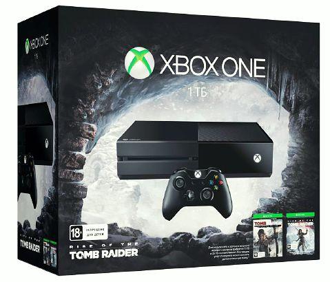 Комплект Xbox One (1TB)  + игра Rise of the Tomb Raider + игра Tomb Raider. Definitive EditionКомплект Xbox One (1TB)  + игра Rise of the Tomb Raider + игра Tomb Raider. Definitive Edition включает в себя  консоль Xbox One, а также игры Rise of the Tomb Raider и Tomb Raide. Definitive Edition.<br>