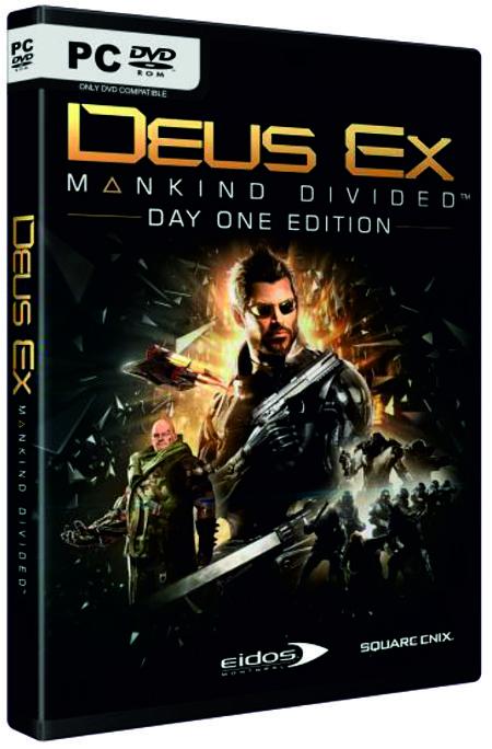 Deus Ex: Mankind Divided. Day One Edition [PC]В игре Deus Ex: Mankind Divided &amp;ndash; станьте непревзойденным специальным агентом. Выберите оружие и аугментации из огромного количества, доступного в игре, и настройте их под себя.<br>