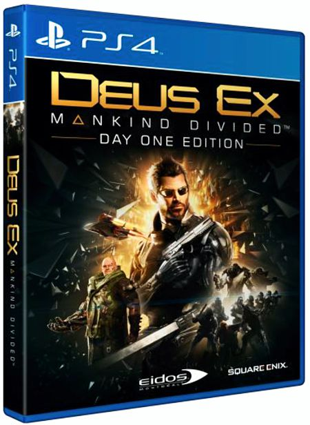 Deus Ex: Mankind Divided. Day One Edition [PS4] видеоигра для ps4 deus ex mankind divided
