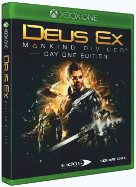 Deus Ex: Mankind Divided. Day One Edition [Xbox One] видеоигра для xbox one overwatch origins edition