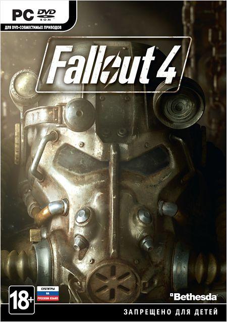 Fallout 4 [PC-DVD]Fallout 4 – новый выпуск постапокалиптической ролевой серии от создателей Fallout 3 и The Elder Scrolls V: Skyrim.<br>