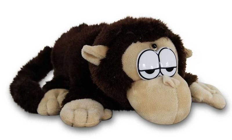 Интерактивная мягкая игрушка Смеющаяся обезьяна