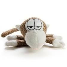 Интерактивная мягкая игрушка Вязаная обезьяна