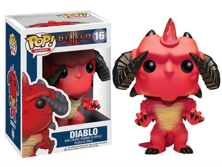 Фигурка Diablo. POP Games (10 см)Представляем вашему вниманию фигурку Diablo. POP Games, созданную по мотивам популярной компьютерной игры.<br>