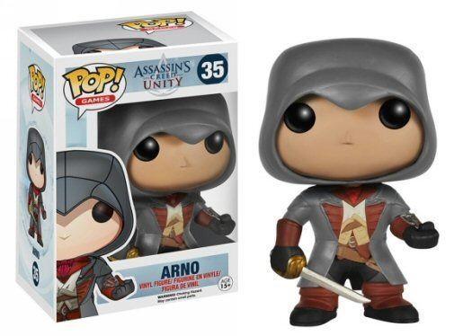 Фигурка Assassins Creed Unity. Arno. POP Games (10 см)Представляем вашему вниманию фигурку Assassins Creed Unity. Arno. POP Games, созданную по мотивам популярной компьютерной игры.<br>