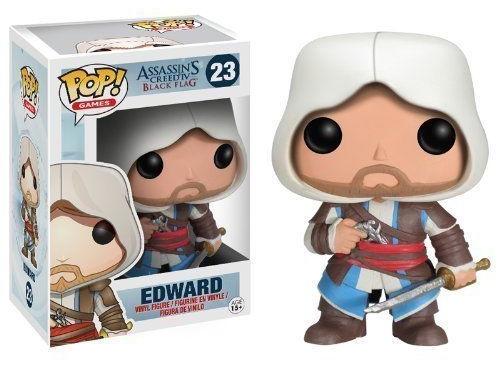 Фигурка Assassins Creed. Edward. POP Games (10 см)Представляем вашему вниманию фигурку Assassins Creed. Edward. POP Games, созданную по мотивам популярной компьютерной игры.<br>