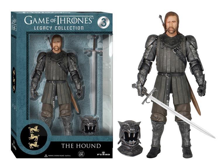 Фигурка Game Of Thrones. The Hound Legacy Action (15 см)Представляем вашему вниманию фигурку Game Of Thrones. The Hound Legacy Action, созданную по мотивам популярного сериала «Игра престолов».<br>