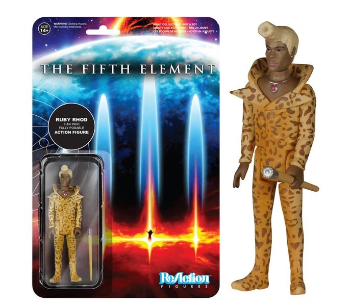 Фигурка The Fifth Element. Ruby Rhod Reaction (10 см)