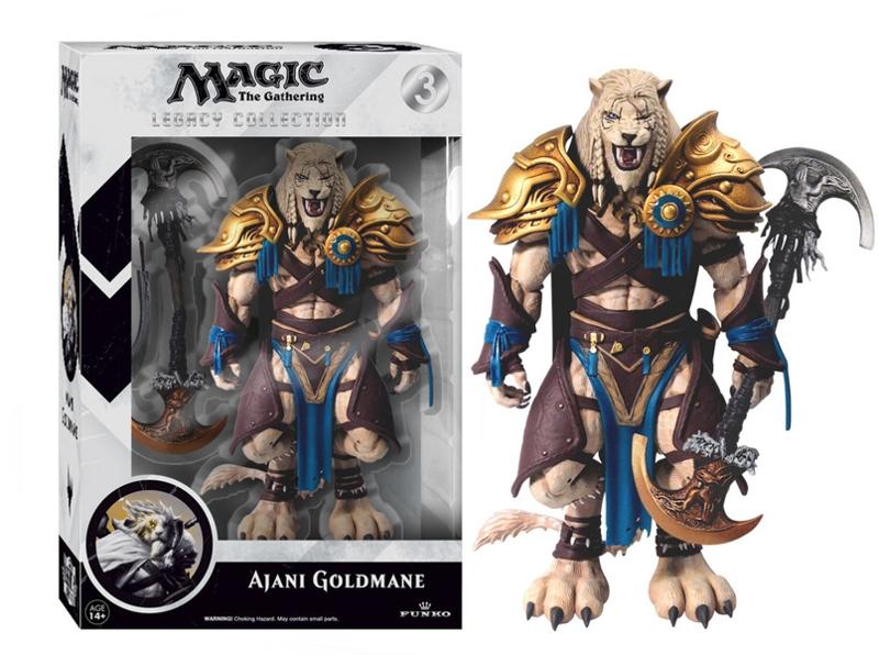 Фигурка Magic: The Gathering. Ajani Goldmane Legacy Action (15 см)Представляем вашему вниманию фигурку Magic: The Gathering. Ajani Goldmane Legacy Action, созданную по мотивам карточной игры «Magic: The Gathering».<br>