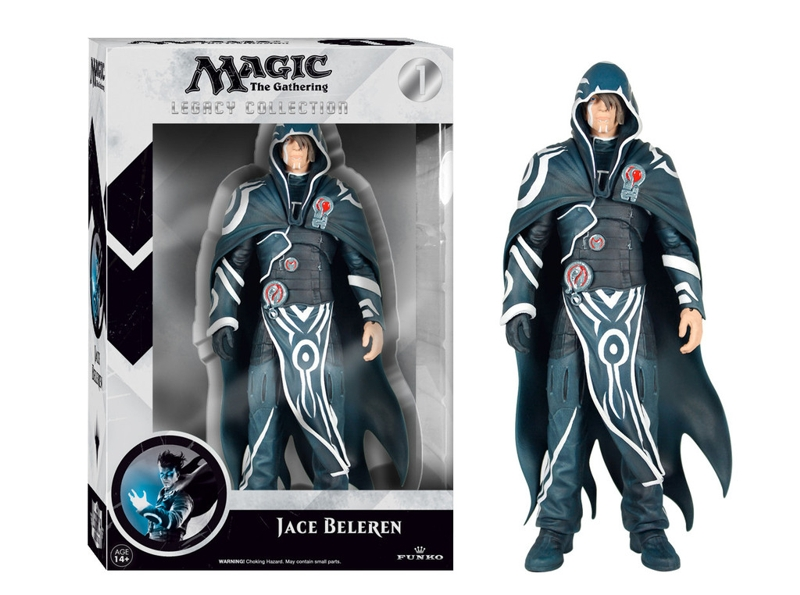 Фигурка Magic The Gathering: The Gathering. Jace Beleren Legacy Action (15 см) magic the gathering duels of the planeswalkers
