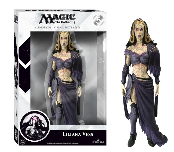 Фигурка Magic The Gathering: Liliana Vess Legacy Action (15 см)Если вы являетесь фанатом карточной игры Magic: The Gathering, то вам сложно будет пройти мимо фигурки Liliana Vess Legacy Action.<br>