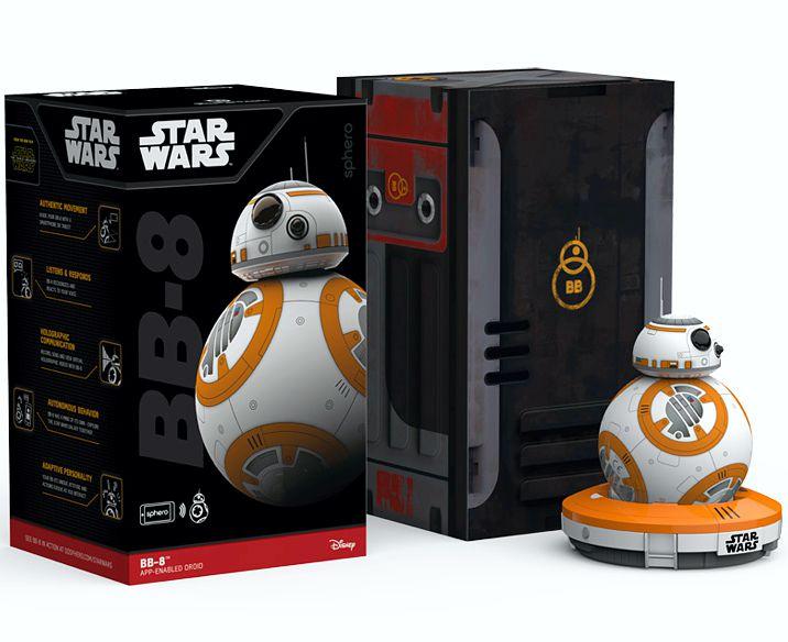 Интерактивный дроид Star Wars BB-8Интерактивный дроид Star Wars BB-8 – это больше чем игрушка – это ваш компаньон. Теперь вы можете исследовать целую галактику со своим собственным дроидом.<br>
