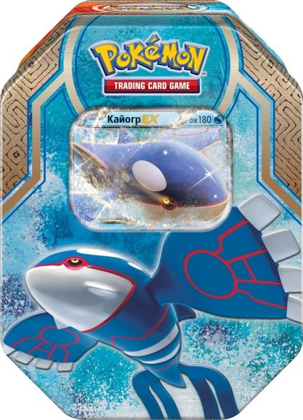 Коллекционный набор Pokemon. КайогрВы сможете командовать могущественной силой моря и земли благодаря Коллекционному набору Pokemon. Кайогр!<br>