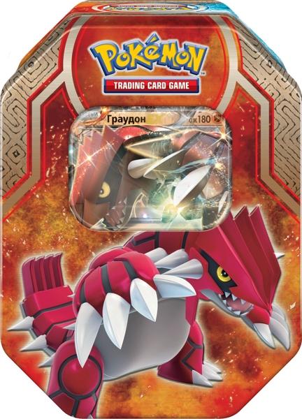 Коллекционный набор Pokemon. ГраудонВы сможете командовать могущественной силой моря и земли благодаря Коллекционному набору Pokemon. Граудон!<br>