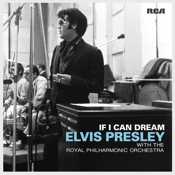 Elvis Presley. If I Can Dream. With The Royal Philharmonic Orchestra (2 LP) can can can lp