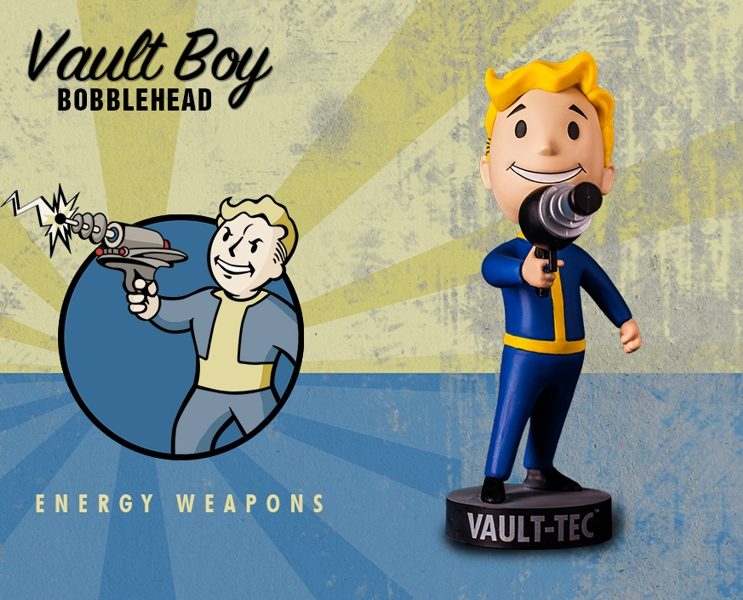 все цены на Фигурка Fallout Vault Boy. 111 Bobbleheads. Series One. Energy Weapons (13 см) онлайн
