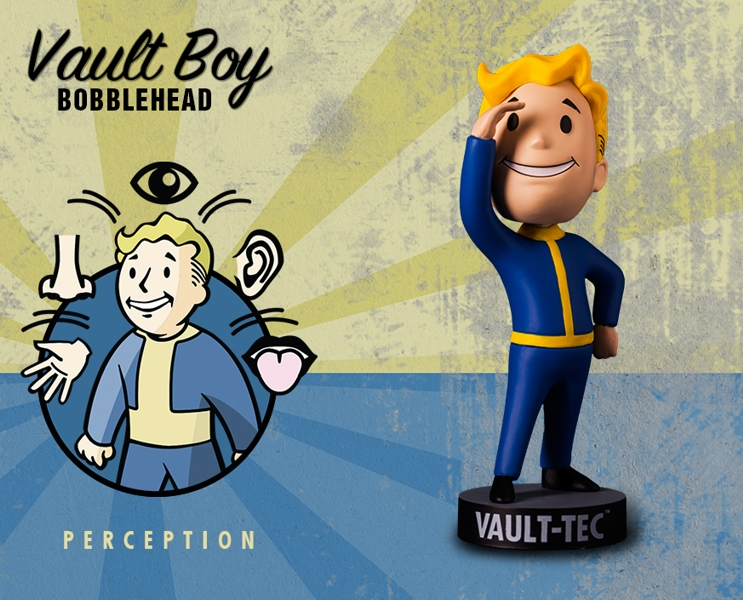 все цены на Фигурка Fallout Vault Boy. 111 Bobbleheads. Series One. Perception (13 см) онлайн