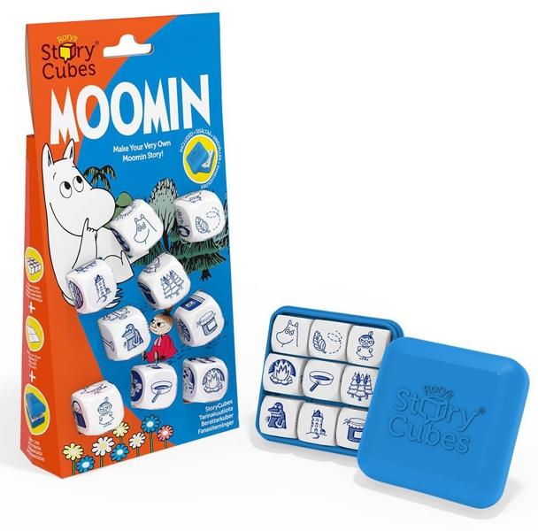 Настольная игра Кубики историй. Муми-троллиНастольная игра Кубики историй. Муми-тролли – версия для самых младших рассказчиков и поклонников творчества Туве Янссон.<br>