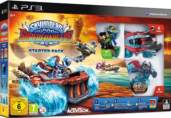 Skylanders SuperChargers. Стартовый набор [PS3] антимагнитные счетчики на воду