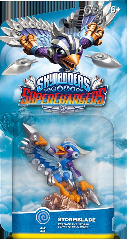 Skylanders SuperChargers. Интерактивная фигурка. Суперзаряд. Stormblade (стихия Air)