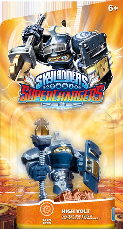 все цены на  Skylanders SuperChargers. Интерактивная фигурка. Суперзаряд. High Volt (стихия Tech)  онлайн