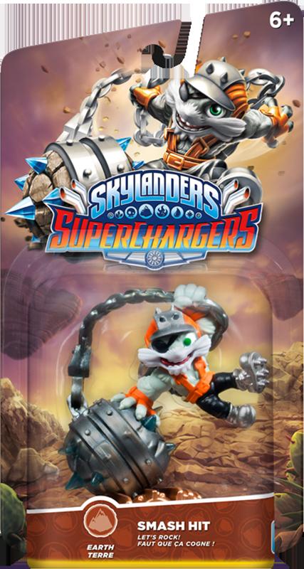 Skylanders SuperChargers. Интерактивная фигурка. Суперзаряд. Smash Hit (стихия Earth) skylanders superchargers интерактивная фигурка машины shark tank стихия earth