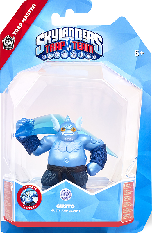 Skylanders Trap Team. Интерактивная фигурка. Мастер ловушек Gusto (стихия Air) toner for samsung 2071 mlt d111 see mltd 1112 s xaa xpress slm 2070f laser copier cartridge free shipping