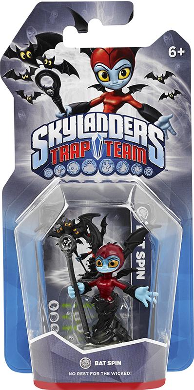 Skylanders Trap Team. Интерактивная фигурка Bat Spin (стихия Undead) activision skylanders trap team knight mare