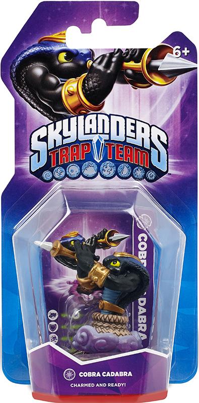 Skylanders Trap Team. Интерактивная фигурка Cobra Cadabra (стихия Magic) activision skylanders trap team knight mare