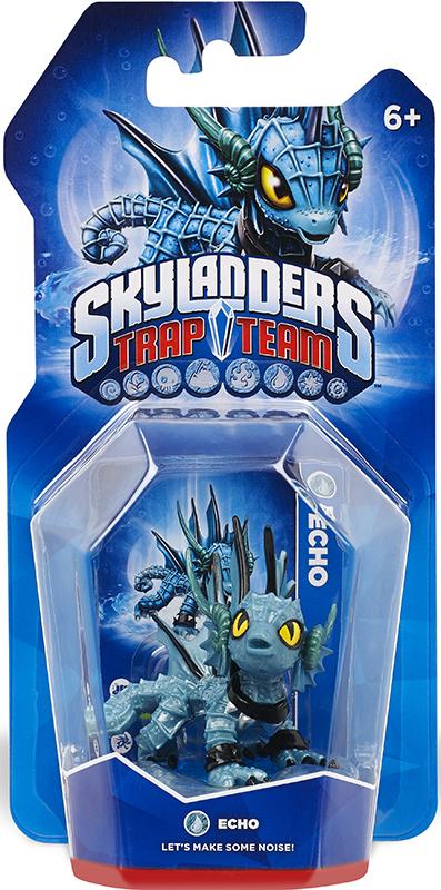 Skylanders Trap Team. Интерактивная фигурка Echo (стихия Water) activision skylanders trap team knight mare