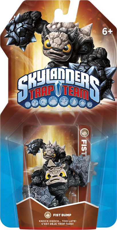 Skylanders Trap Team. Интерактивная фигурка Fist Bump (стихия Earth) skylanders superchargers интерактивная фигурка машины shark tank стихия earth