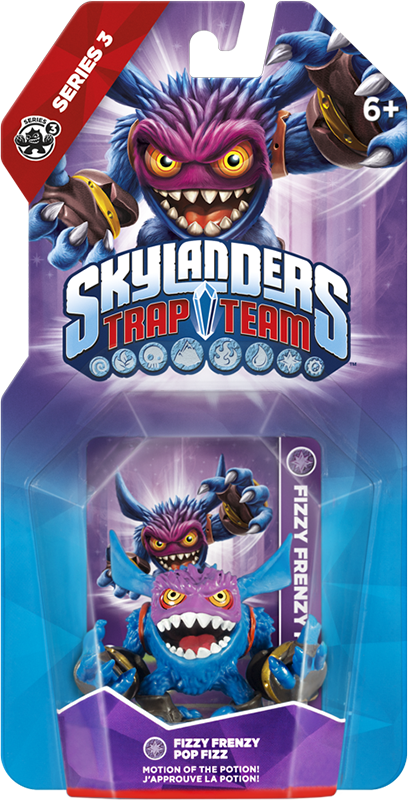 Skylanders Trap Team. Интерактивная фигурка Fizzy Frenzy Pop Fizz (стихия Magic) cmam anatomy07 reproduction model of intrauterine contraceptive guidance medical science educational teaching anatomical models