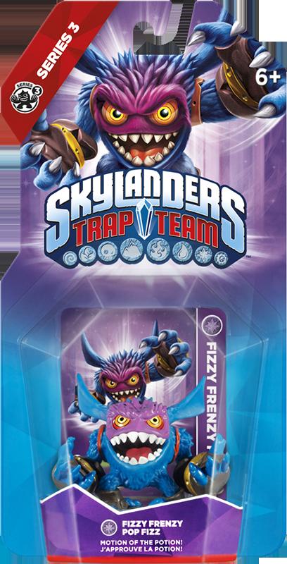 Skylanders Trap Team. Интерактивная фигурка Fizzy Frenzy Pop Fizz (стихия Magic) skylanders trap team fizzy frenzy pop fizz